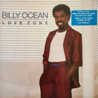 Billy Ocean ‎- Love Zone (LP) (EX-/VG++)